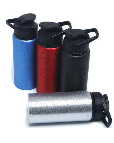 Squeeze de Alumínio Personalizado | Squeeze Térmico de Alumínio. Personalizado com capacidade para 600 ML