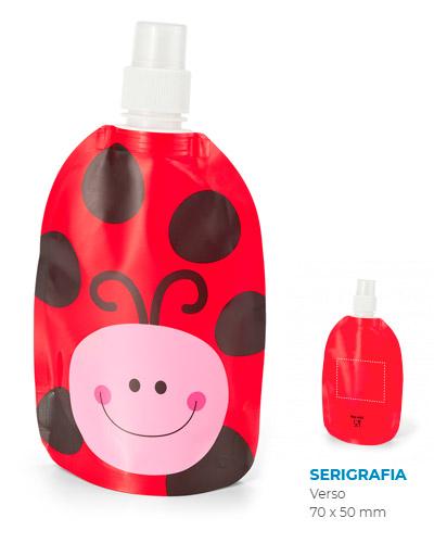 Squeeze de Plástico Dobrável Personalizado