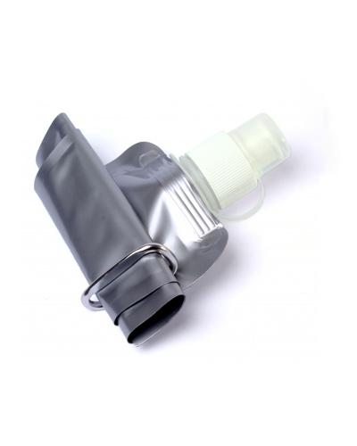 Squeeze Dobrável Personalizado | Squeeze de Plástico Dobrável. Feito em material plástico e com capacidade de 480 ml