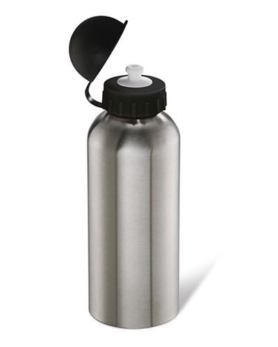 Squeeze Metálico Personalizado | Squeeze Personalizado em Inox. Sua capacidade é de 600 ML