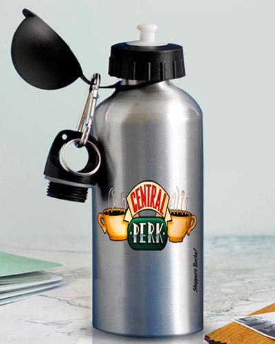 Squeeze de Alumínio personalizado. Com capacidade de 500 ml e impressão da logomarca em laser ou Silk.